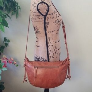 Handbags - Lucky Brand Crossbody/Shoulder Leather Bag
